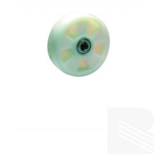 Ruota nylon bianco serie pesante